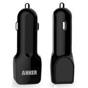 Anker 双接口USB车载充电器 适用于三星iPhone6 Plus万能充 黑色