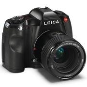 徕卡 S 中画幅数码相机 黑色 (3750万像素,连续拍摄速度快,70/2.5标头)
