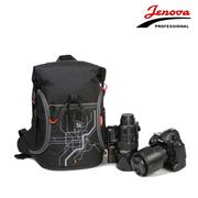 吉尼佛 /相机包21129 D810专业单反数码摄影包 双肩背包 户外登山包 黑色