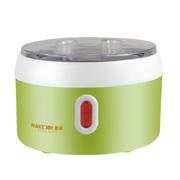 麦卓 Makejoy全自动酸奶机MJ-2118A不锈钢内胆1升 配4个陶瓷分杯 MJ-2118绿色不带分杯