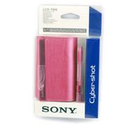 索尼 LCS-TWK 便携式式相机包 粉色