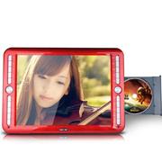 先科 SAST/ 21寸看戏机唱戏机移动DVD高清视频播放器 电视 移动EVD光盘播放机 红色 标配+16G卡(带下载目录)