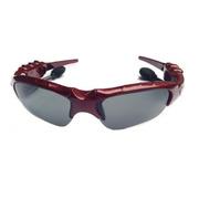 HNM 蓝牙太阳眼镜 智能眼镜  蓝牙眼镜  智能穿戴眼镜 时尚眼镜 迷你眼镜 手机眼镜 车眼镜 酒红色 套餐一