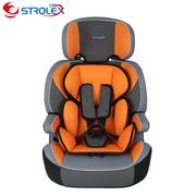 舒童乐(Strolex) 儿童汽车安全座椅 儿童安全座椅 增高垫STX601A 枫之恋 青蟹绿