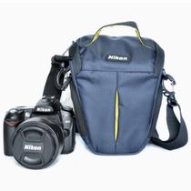 尼康 相机包D90 D7000 D5200 D3200 D3300 D5300 D7100包 蓝三角包D5200产品图片主图