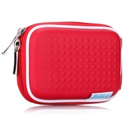 雷摄 LSDC-001 数码相机包(红色) 适用于:各品牌卡片机使用