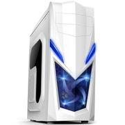 爱国者 魔兽1豪华版机箱白色(标配一个12CMLED静音风扇/USB3.0/侧透)