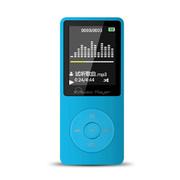 IQQ 无损MP3播放器运动便携mp4发烧HIFI高音质8GB录音笔 蓝色(升级版)