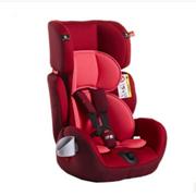 好孩子 儿童安全座椅9月-12岁小孩9-36kg婴儿童宝宝汽车坐椅系列欧盟美标ECE认证德国 红色CS609-M209