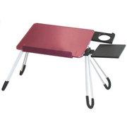 安尚(ACTTO) LD05 铝合金笔记本电脑桌(深红色)