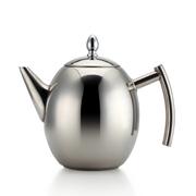 仁品 RENPIN不锈钢茶壶 冷水壶泡茶壶橄榄形茶壶电磁炉通用 1.5L