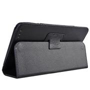 小魔女 皮革纹商务皮套 适用于酷比魔方talk8/U27GT/talk8H保护套 黑色