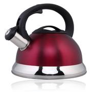 仁品 不锈钢烧水壶 鸣音壶 防烫烧水壶 煤气电磁炉通用 4L 红色
