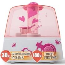 爱普爱家 JS-501F(粉色) 5.5L超大水箱透明商务超大容量净化加湿器产品图片主图