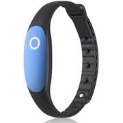 bong 2 智能手环睡眠监测运动防水计步器待机一年蓝牙可穿戴设备腕带 藏蓝色