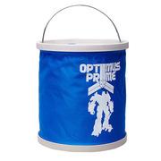 哆啦A梦 变形金刚 11L折叠洗车水桶 车用便携水桶 钓鱼桶两用 大号清洁用品 京品年货 蓝色