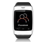 酷道 S12触屏蓝牙智能手表手环腕表计步器智能穿戴免提通话手机伴侣创意配件 白色