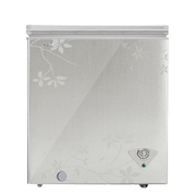 美的 BD/BC-145KMQ 145升家用迷你小冰柜 卧式冷冻冷柜节能