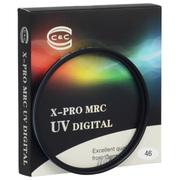 C&C X-PRO MRC UV  专业级 超薄多层防水镀膜UV滤镜 uv滤镜 UV镜 82mm 金圈