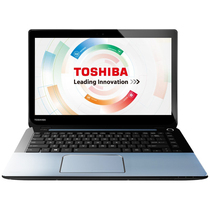 东芝 S40-AC06M1 14英寸笔记本(I3-3217U/2G/500G/GT720M/DOS/银色)产品图片主图