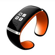 爱随 W9智能手镯手环触屏智能蓝牙腕表运动穿戴设备免提通话安卓伴侣低辐射 橙色