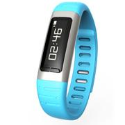 喜木 R8智能手环 智能运动健康计步器 智能穿戴蓝牙手表 健康监测智能腕带 天空蓝