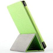 虎克 亚马逊Kindle Paperwhite2 6寸二代4G电子书阅读器皮套 休眠保护套 竖式三折款-苹果绿 kindle p