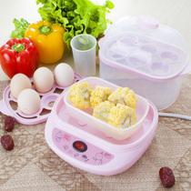 美味世家 2ZDQ全自动双层蒸蛋器煮蛋机 红色产品图片主图