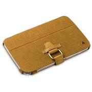 艾克司(Acase) 三星 Galaxy Note 8.0真皮绒休眠皮套 棕色