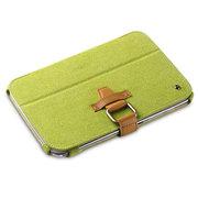 艾克司(Acase) 三星 Galaxy Note 8.0真皮绒休眠皮套 绿色