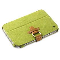 艾克司(Acase) 三星 Galaxy Note 8.0真皮绒休眠皮套 绿色产品图片主图