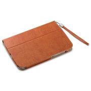 艾克司(Acase) 三星 Note8.0 N5110疯马皮纹保护套 棕红色