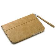 艾克司(Acase) 三星 Note8.0 N5110疯马皮纹保护套 浅棕色