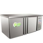 乐创 1.8M商用冰箱冷藏工作台冷柜保鲜柜冷冻保鲜工作台冰柜平冷操作台 1.2M双温冷藏冷冻柜