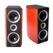 山水 Sansui 多媒体家庭音箱音响组合套装 木质音箱家庭影院低音炮 EX-S6 洒红色