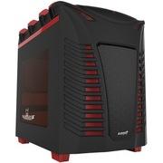 游戏悍将 魔族3豪华黑装 机箱 (0.7mm钢板/类肤手感/横置主板/水冷支持)