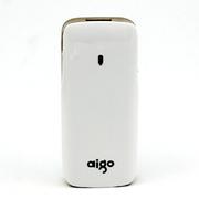aigo RS150 5000毫安 无线云存储/移动电源/无线WIFI/云电宝 土豪金 官方标配+爱国者1拖3线