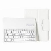 爱酷多 三星P600 P601 T520 T521 蓝牙键盘套 可拆卸型皮套 白色