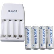 圣奇仕 S606-2000 智能充电套装(含智能充电器 4节2000毫安5号镍氢充电电池)