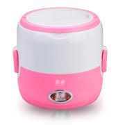其他 麦卓Makejoy多功能电热饭盒MJ-2014不锈钢内胆热饭蒸饭煮蛋器蒸蛋器 2013粉色