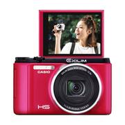 卡西欧 ZR1500 数码相机 1610万像素 12.5倍光学变焦 红色