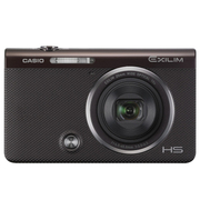 卡西欧 EX-ZR50 数码相机/自拍神器 10倍光学变焦 25mm广角 棕色