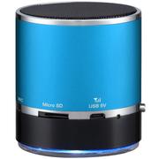 山水 E17无线蓝牙音箱 手机音响 迷你便携插卡收音机 老人音乐播放器 蓝色