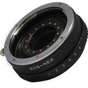 嘉蕊 佳能EF 镜头转索尼系列微单 A7R II A5100 A6000 手动调光圈环