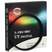 C&C X-PRO MRC UV 49mm 专业级超薄多层防水镀膜UV滤镜 微单专用,适用索尼55-210,24/1.8,20/2.8