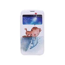 三星 Galaxy Mega 5.8彩绘皮套产品图片主图