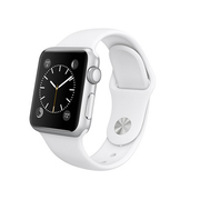 苹果 Apple Watch SPORT 智能手表(白色/38毫米表壳)