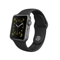 苹果 Apple Watch 智能手表(黑色/42毫米表壳/运动型表带)产品图片主图