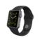 苹果 Apple Watch 智能手表(黑色/38毫米表壳/运动型表带)产品图片1