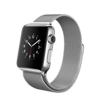 苹果 Apple Watch 智能手表(不锈钢/38毫米表壳/米兰尼斯表带)产品图片主图